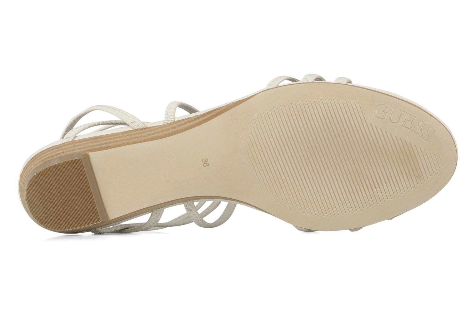Sandals Guess Trina White view from above