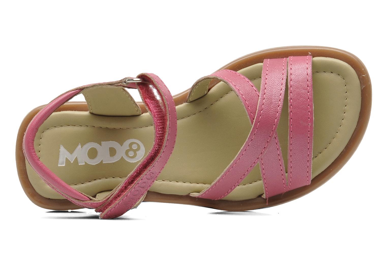 Sandalen Mod8 Jelguy2 rosa ansicht von links
