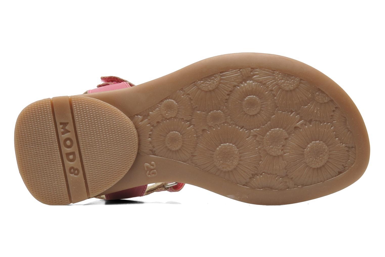 Sandalen Mod8 Jelguy2 rosa ansicht von oben