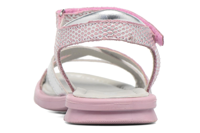 Sandales et nu-pieds Mod8 Jelguy2 Rose vue droite