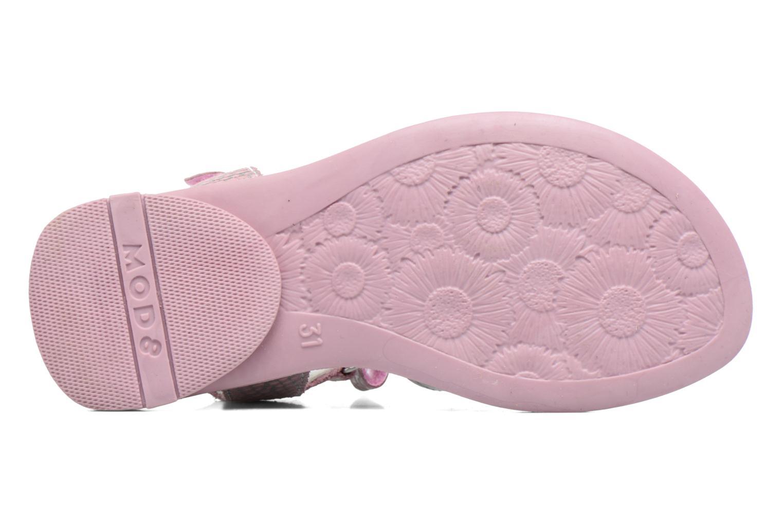 Sandales et nu-pieds Mod8 Jelguy2 Rose vue haut