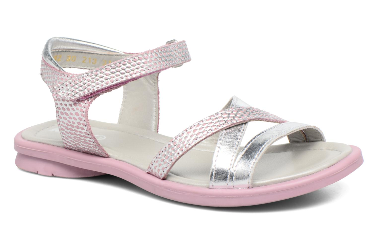Sandals Mod8 Jelguy2 Pink detailed view/ Pair view