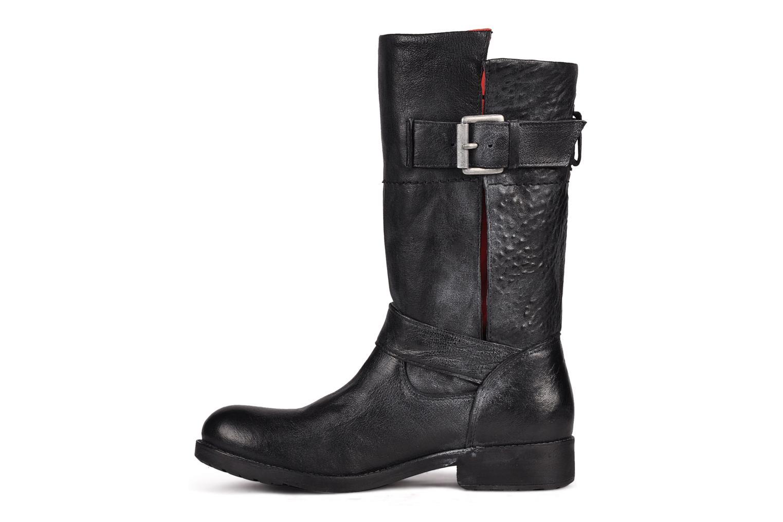 Karina 103 Noir / int rouge cuir