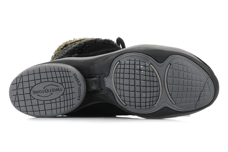 Bottines et boots Hush Puppies Rotate Noir vue haut