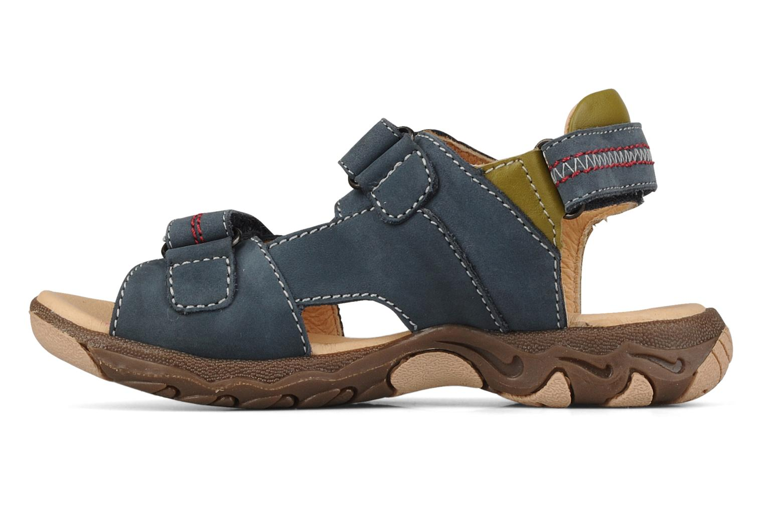 Sandals Giesswein Adoni Blue front view