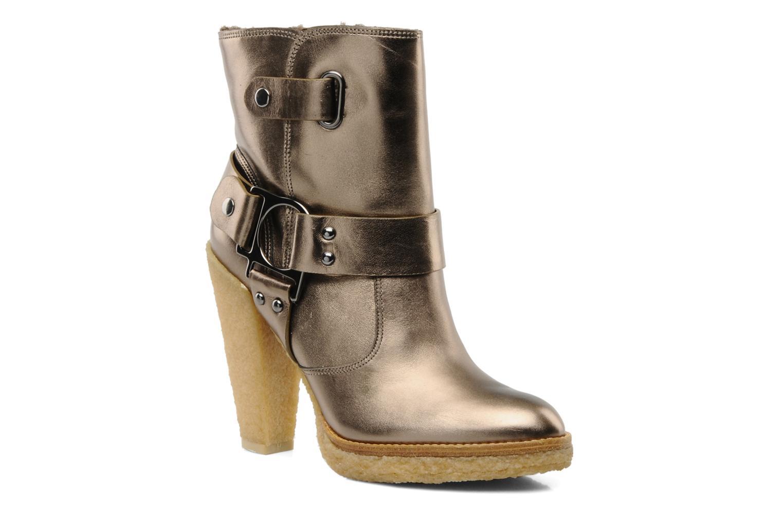 Bottines et boots Belle Tahira Or et bronze vue détail/paire