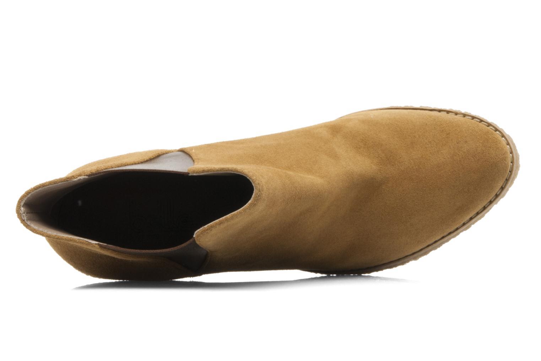 Bottines et boots Belle Tanja Marron vue gauche