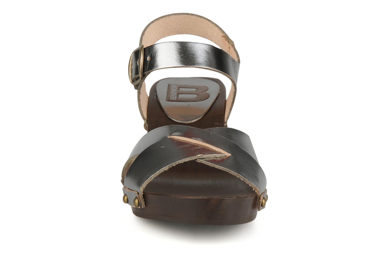 Sandali e scarpe aperte Bensimon Sandales exclu Argento modello indossato