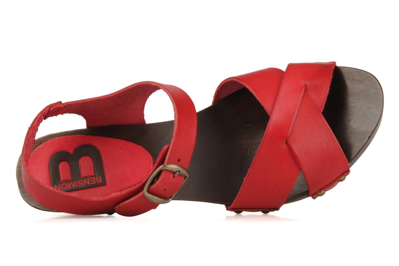 Sandales exclu Rouge