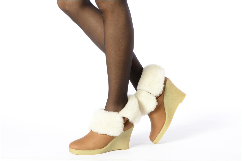 Stiefeletten & Boots Mellow Yellow Kalisson braun ansicht von unten / tasche getragen