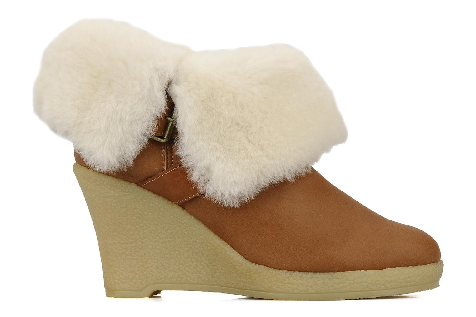 Ankle boots Mellow Yellow Kalisson Brown back view