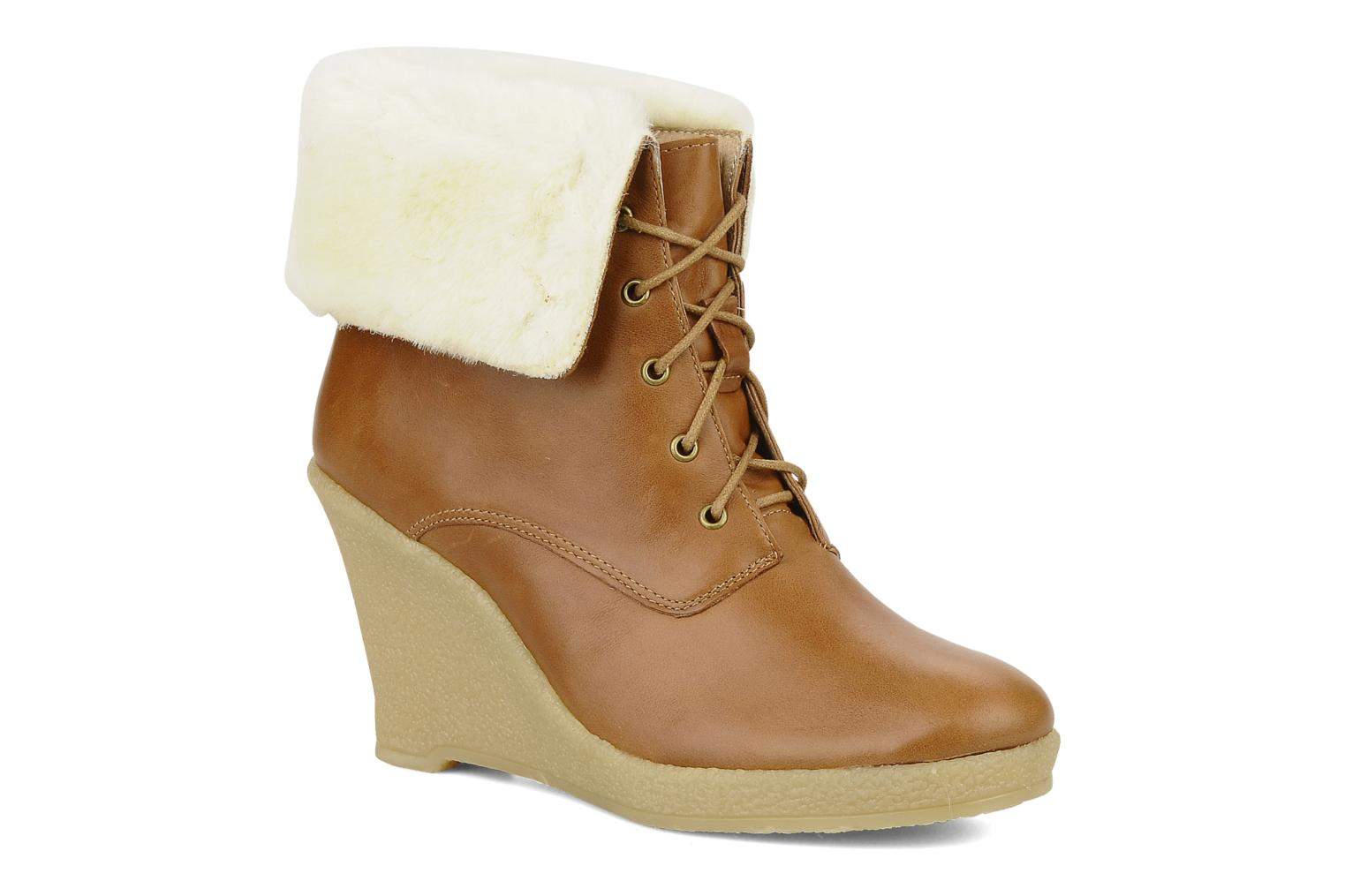 Ankle boots Mellow Yellow Kafka Brown detailed view/ Pair view