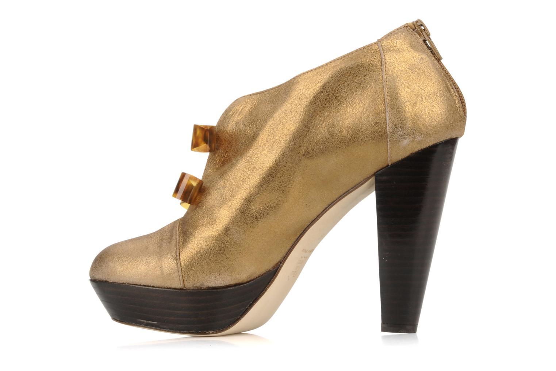 Bottines et boots Mellow Yellow Kanada Or et bronze vue face