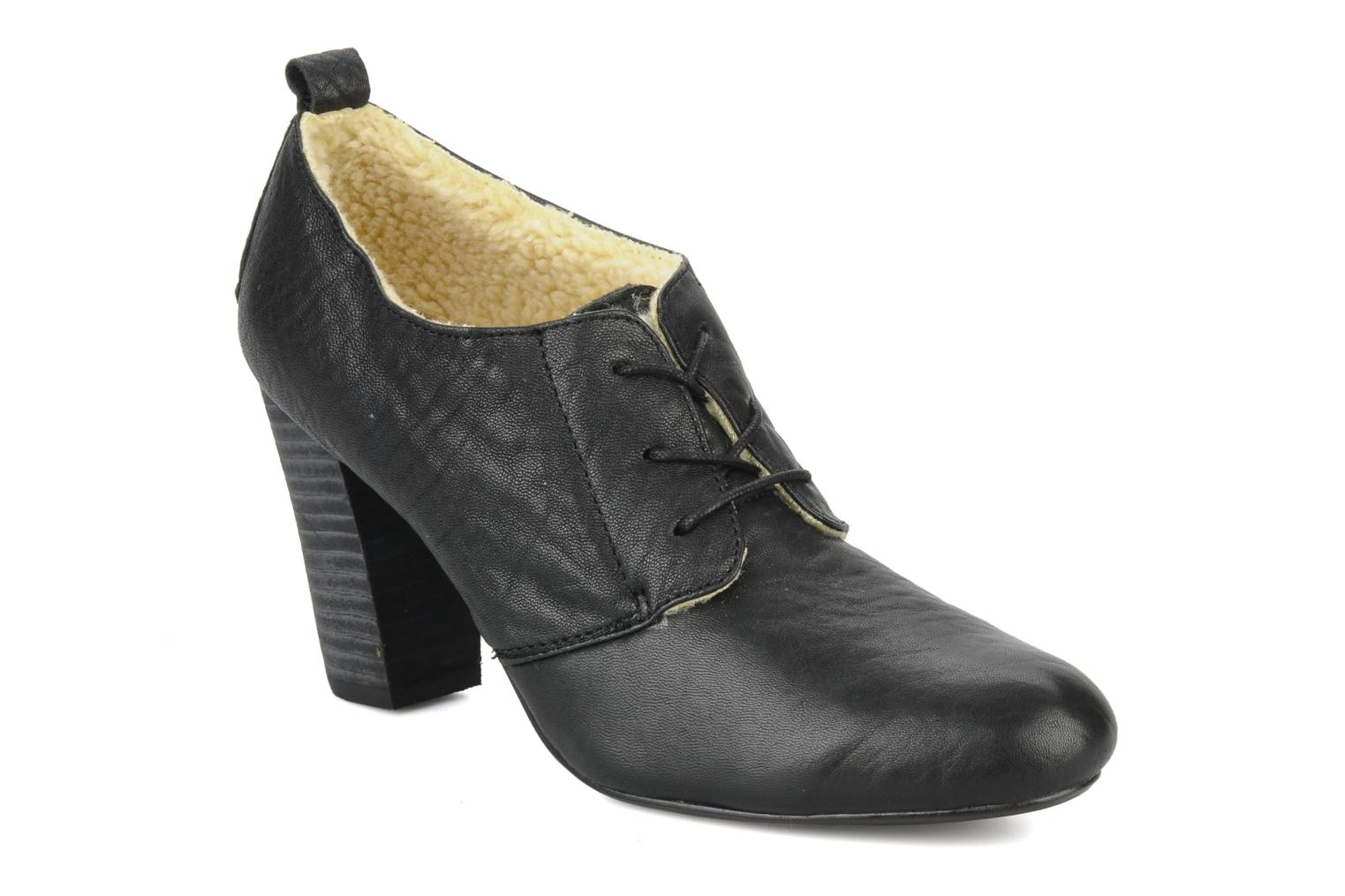 Lace-up shoes Mellow Yellow Kony Black detailed view/ Pair view