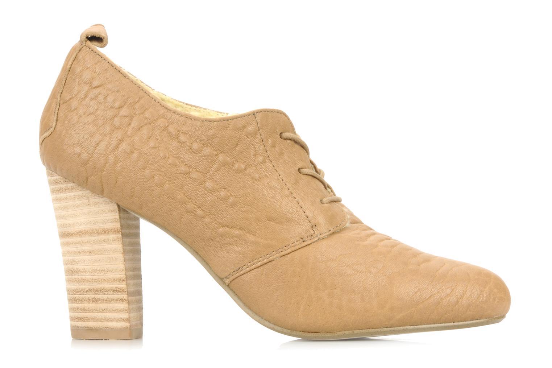 Snörade skor Mellow Yellow Kony Beige bild från baksidan