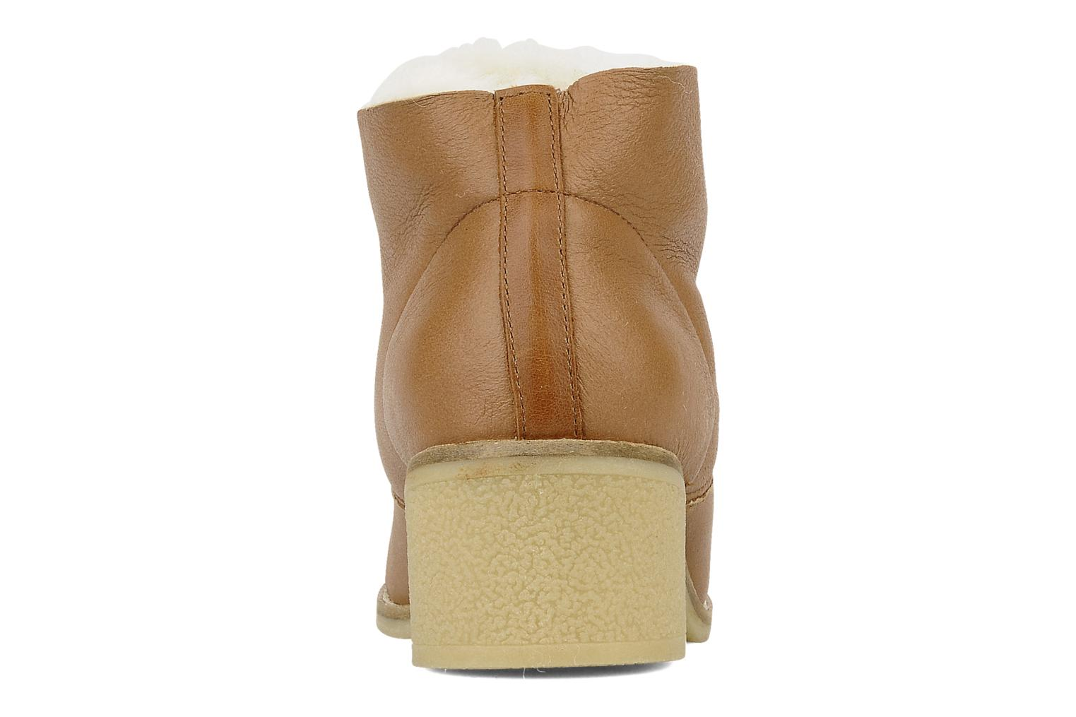 Lace-up shoes Mellow Yellow Kolchic Brown view from the right