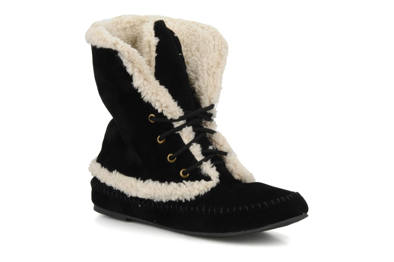 Bottines et boots Friis & company Annabell Noir vue 3/4