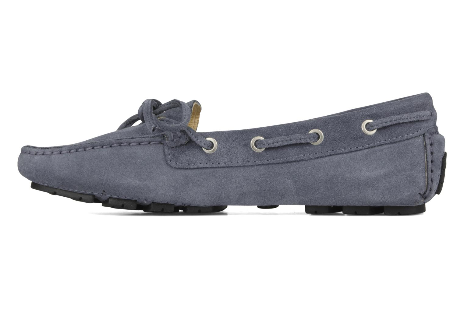 Loafers Georgia Rose Vinelle Blue front view