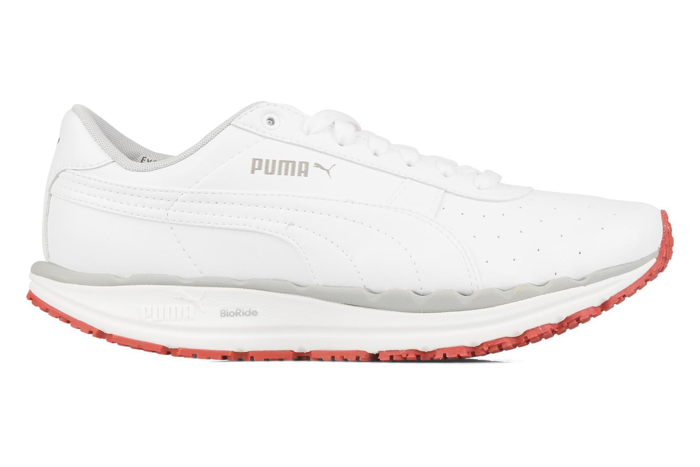 Chaussures de sport Puma Bodytrain leather Blanc vue derrière