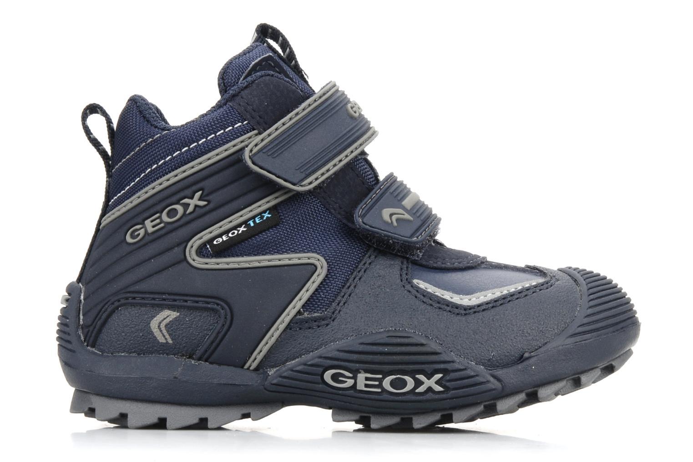 Sneakers Geox B savage wp b Azzurro immagine posteriore
