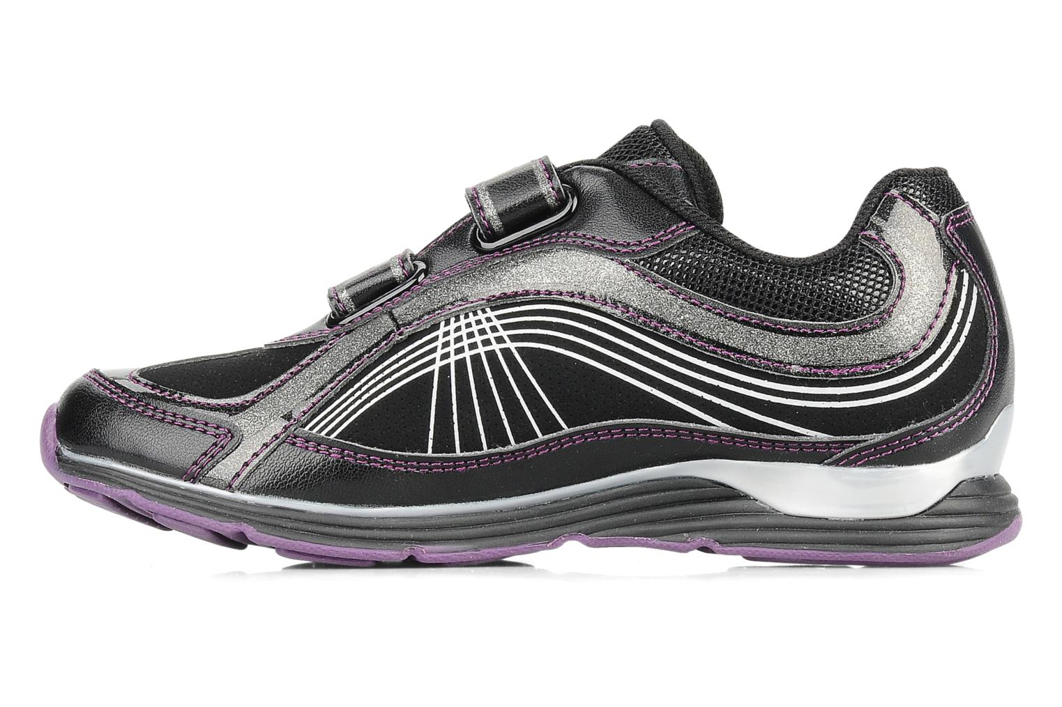 Trainers Geox J noemi g Black front view