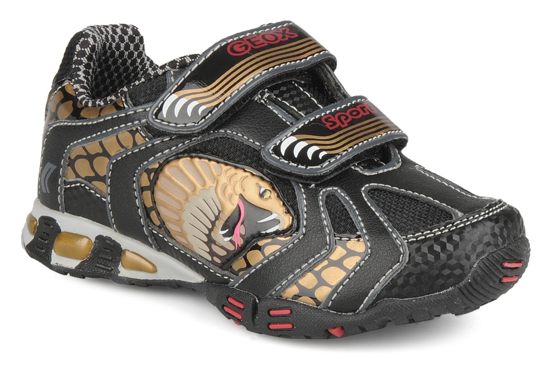 Sneakers Geox B nleclipb a Zwart detail