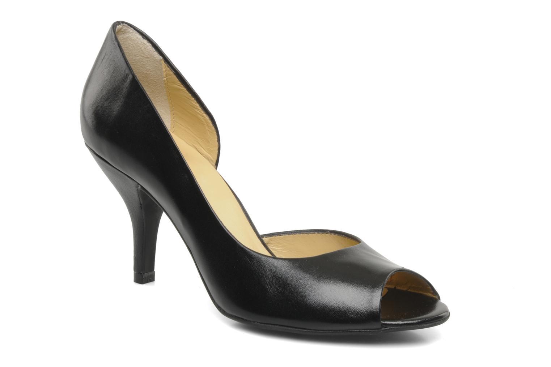 High heels Georgia Rose Alige Black detailed view/ Pair view
