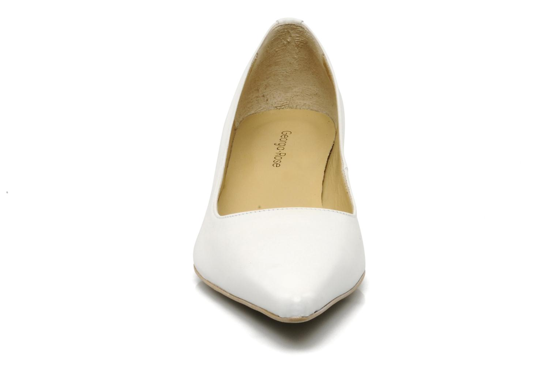 Escarpins Georgia Rose Amisi Blanc vue portées chaussures