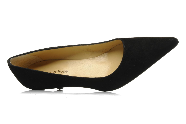 Zapatos de tacón Georgia Rose Amisi Negro vista lateral izquierda