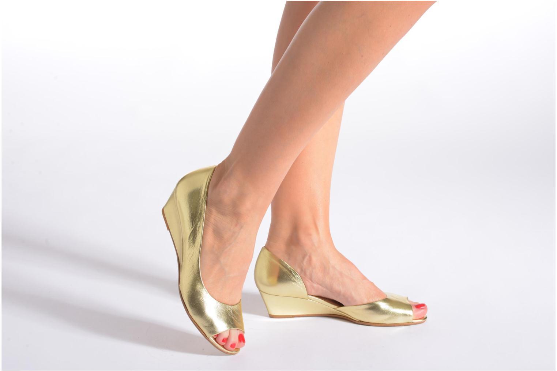 Zapatos de tacón Georgia Rose Phoeti Marrón vista de abajo