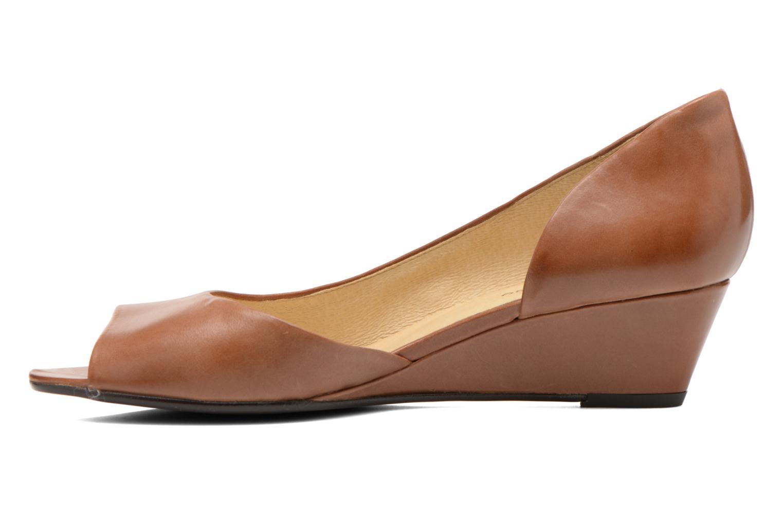 Zapatos de tacón Georgia Rose Phoeti Marrón vista de frente