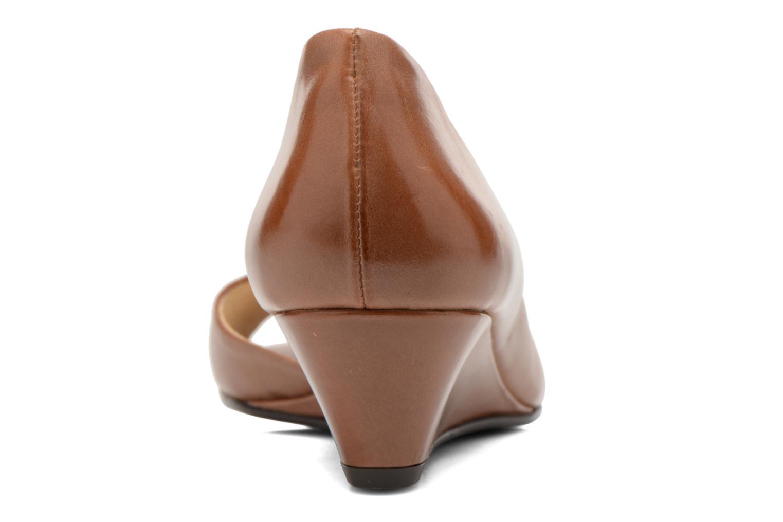 Zapatos de tacón Georgia Rose Phoeti Marrón vista lateral derecha