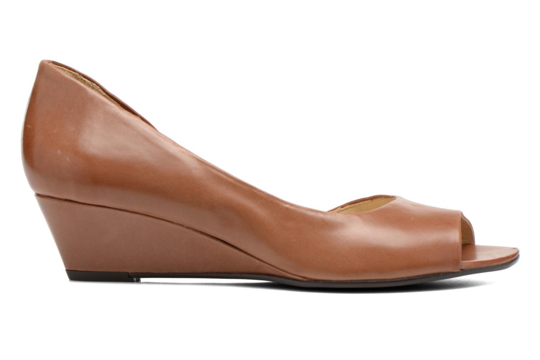 Zapatos de tacón Georgia Rose Phoeti Marrón vistra trasera