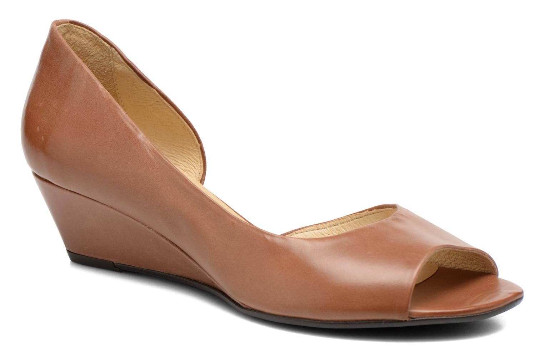 Zapatos de tacón Georgia Rose Phoeti Marrón vista de detalle / par