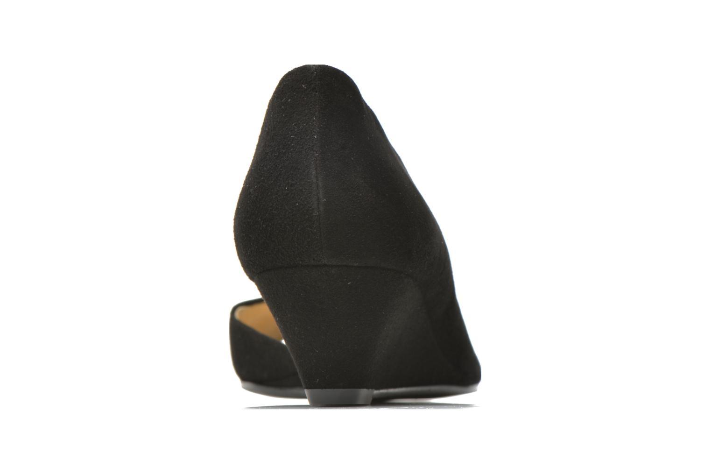 Zapatos de tacón Georgia Rose Phoeti Negro vista lateral derecha