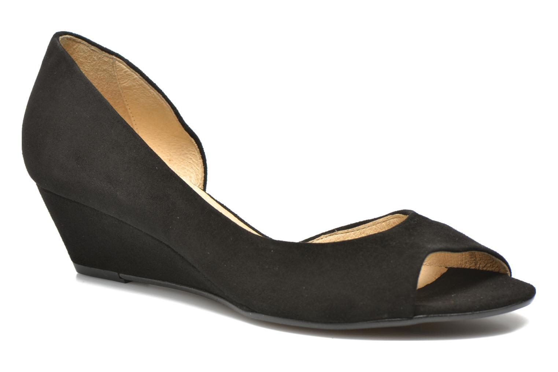 Høje hæle Georgia Rose Phoeti Sort detaljeret billede af skoene