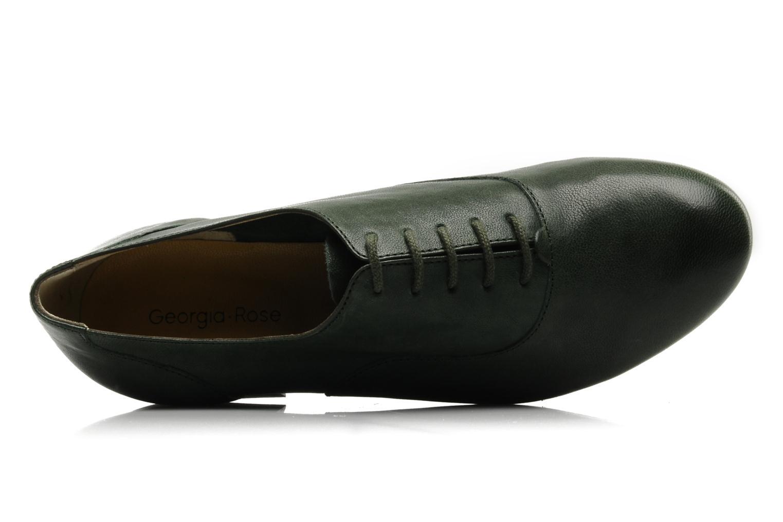 Chaussures à lacets Georgia Rose Messia Vert vue gauche