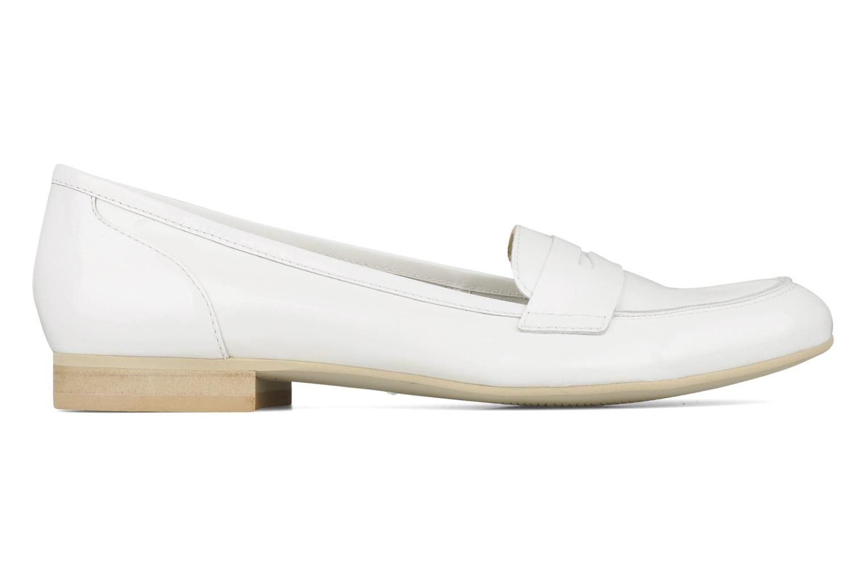 Loafers Georgia Rose Afuro White back view