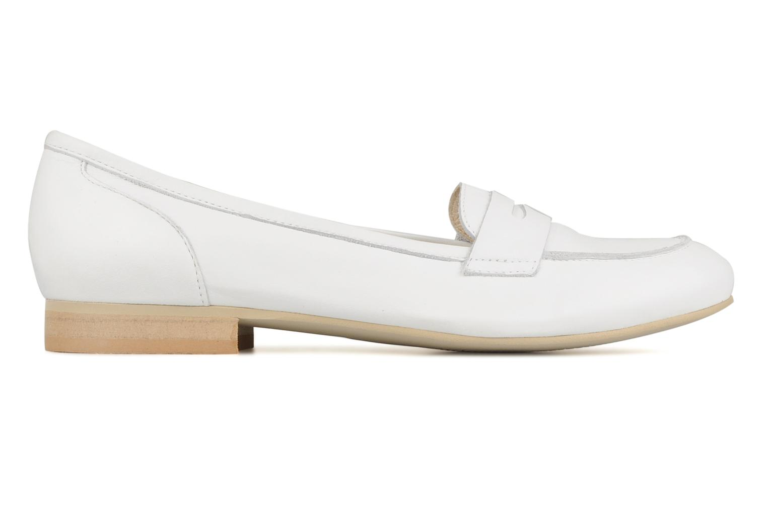 Loafers Georgia Rose Afuro White back view