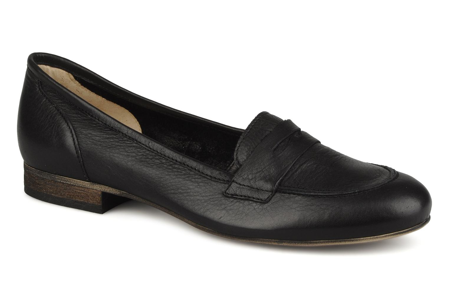 Loafers Georgia Rose Afuro Black detailed view/ Pair view