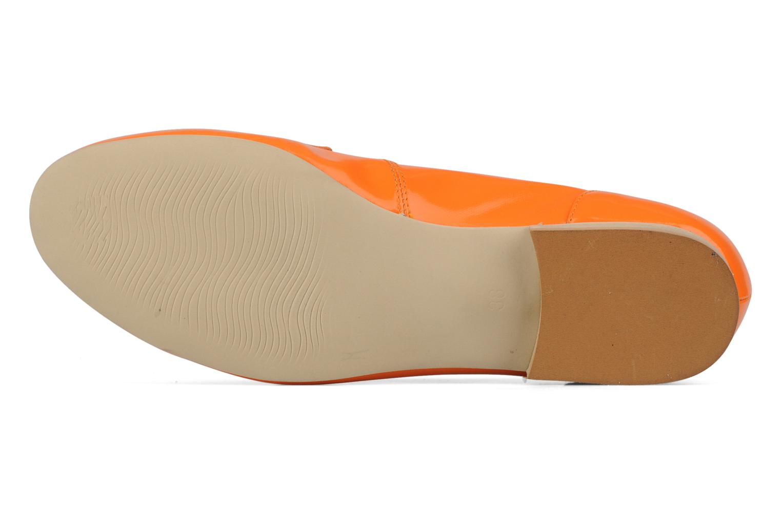Loafers Georgia Rose Afuro Orange view from above