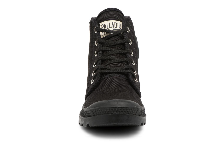 Baskets Palladium Pampa hi w Noir vue portées chaussures