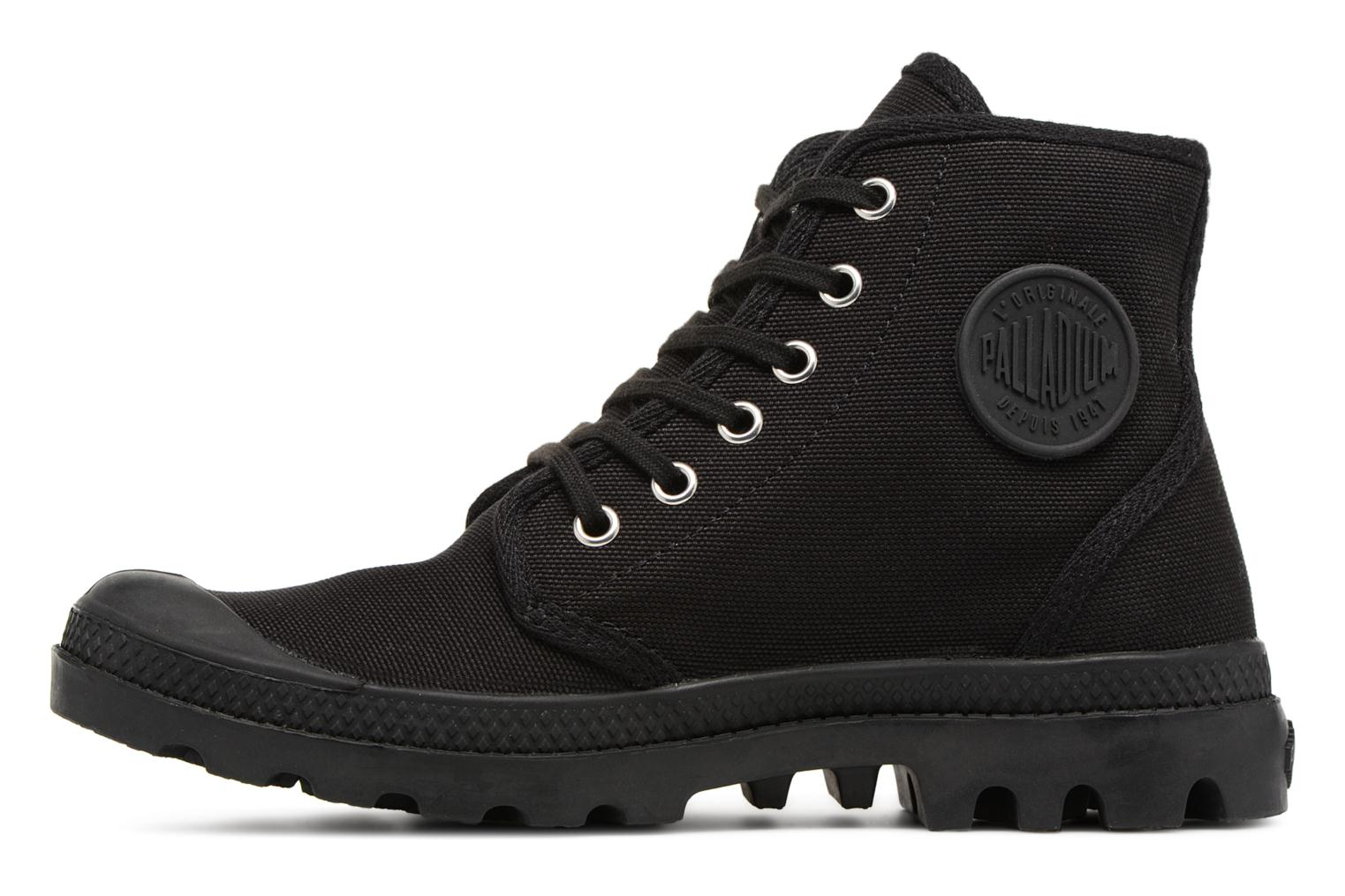Trainers Palladium Pampa hi w Black front view