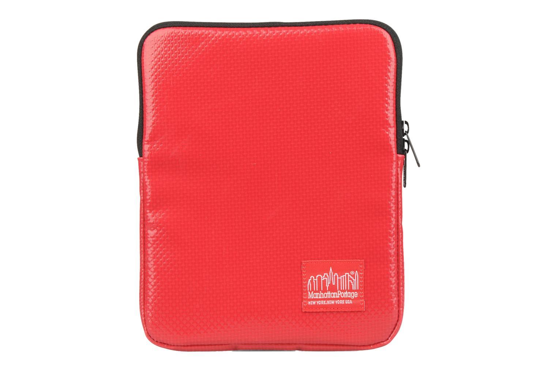Petite Maroquinerie Manhattan Portage Vinyl ipad sleeve Rouge vue détail/paire