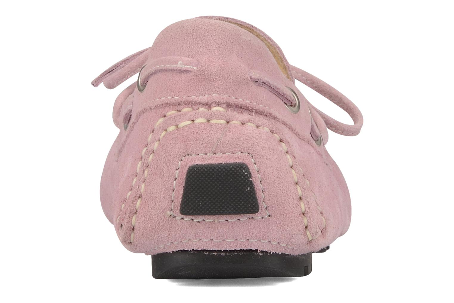 Loafers Marvin&co Akide Pink view from the right