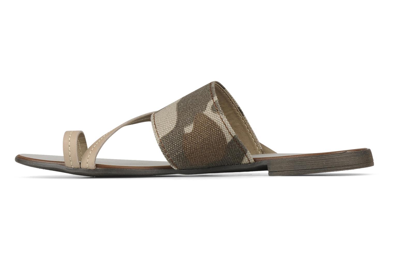 Sandales et nu-pieds Eden Tanza Vert vue face
