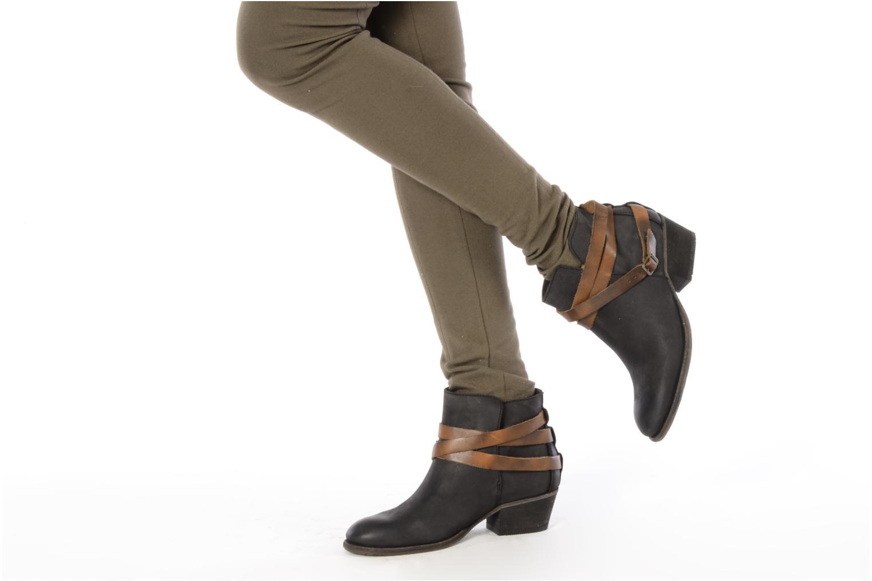 Bottines et boots H By Hudson Horrigan Gris vue bas / vue portée sac