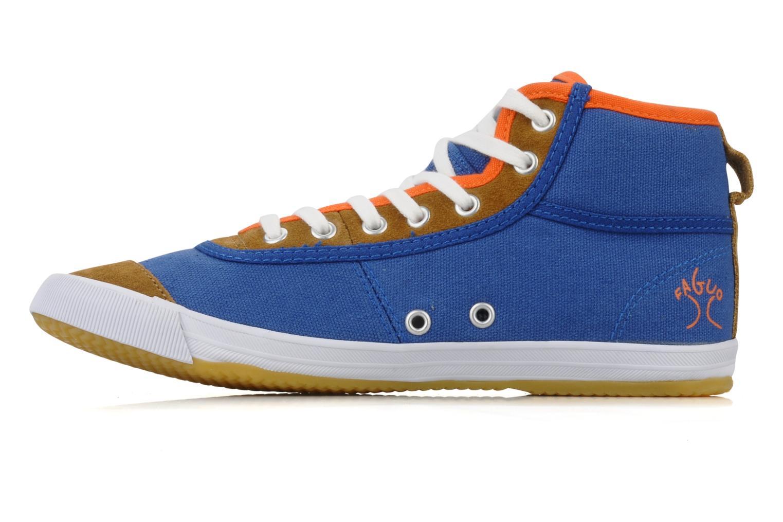 Baskets Faguo Teak w Bleu vue face