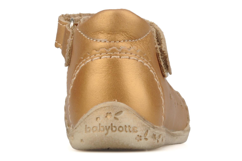 Stiefeletten & Boots Babybotte Stars gold/bronze ansicht von rechts