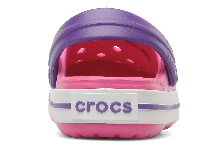Sandalias Crocs Crocband kids Rosa vista lateral derecha
